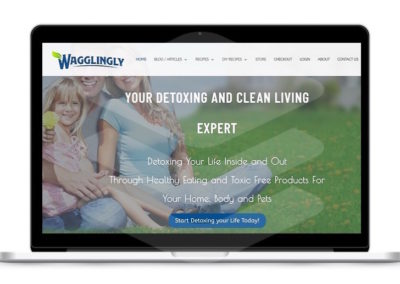 Wagglingly Nutrition: Email Marketing, Blog Posts, Social Media