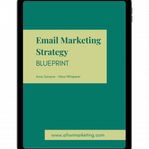 Email Marketing Strategy Blueprint