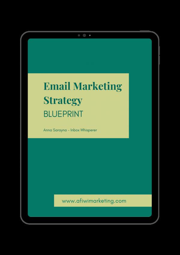 Email Marketing Strategy Blueprint