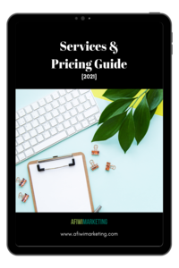 Services and pricing guide